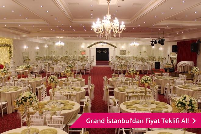 Grand İstanbul Düğün Davet Salonları