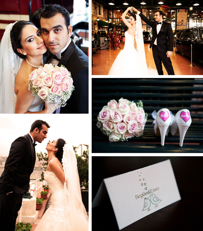 Begüm ve Emre'nin düğün hikayesi
