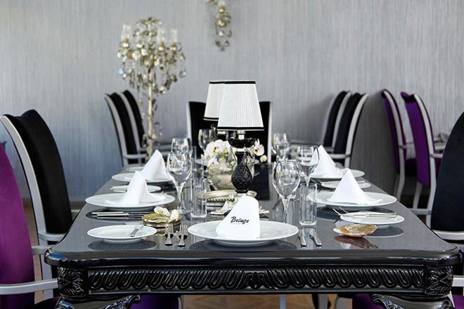 düğün yemeğiniz için elit bir mekan: beluga restoran