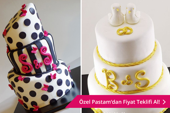 özel tasarım düğün pastası arayan çiftlere butik pastacı önerileri
