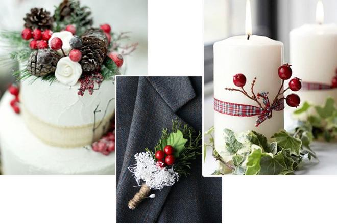 yeni yıl temalı düğün