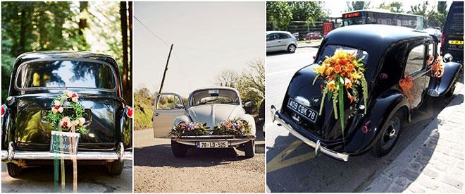 Düğün Arabası Süslemesi