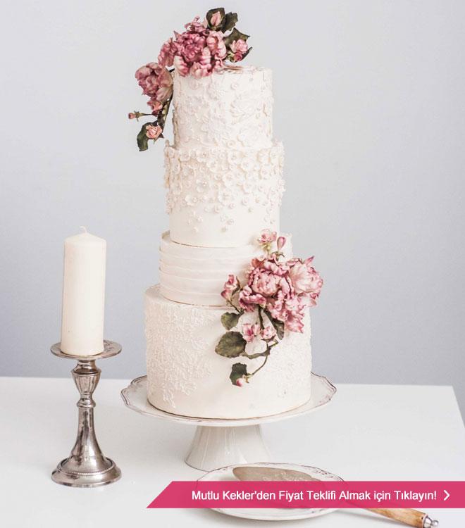 mutlu_kekler - Özel tasarım düğün pastası arayan Çiftlere butik pastacı Önerileri