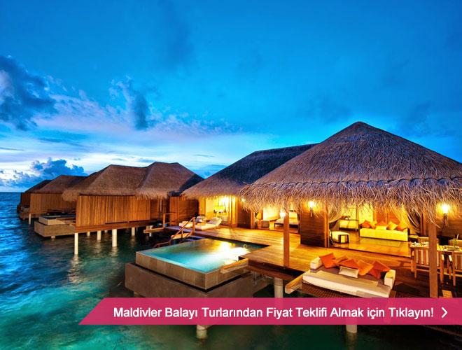 maldivler - Romantik balay