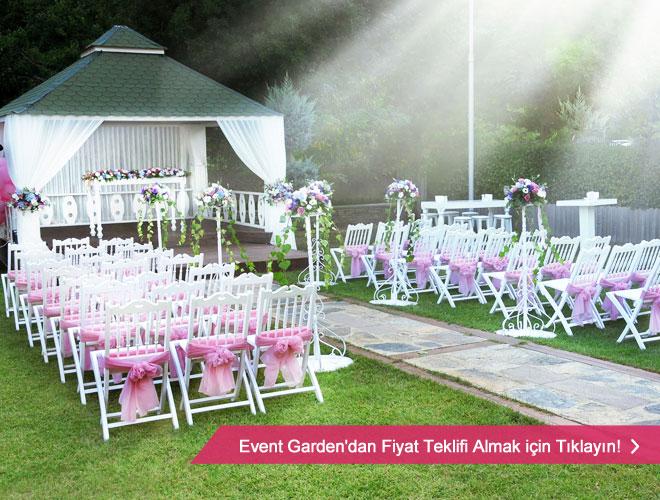 event_garden_14 11 - Sarıyer'de şehir merkezine altı km uzaklıktaki bahçe mekan Event Garden