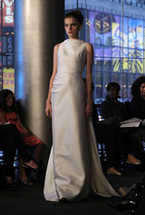 carmen_marc_valvo - new york fashion week'ten çarpıcı gelinlikler