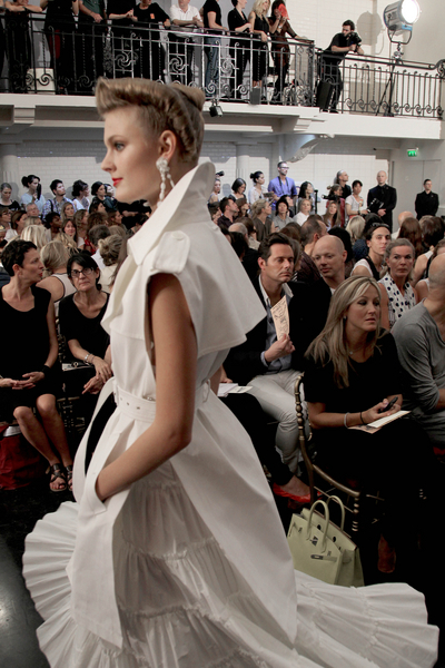 jean paul gaultier 1 - paris moda haftası'ndan gelinlikler