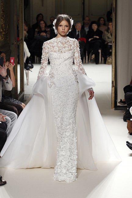 novias costura 03  a - paris moda haftası'ndan gelinlikler