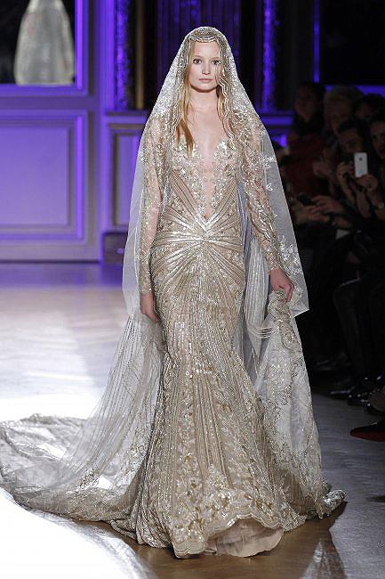 novias costura 06  a - paris moda haftası'ndan gelinlikler