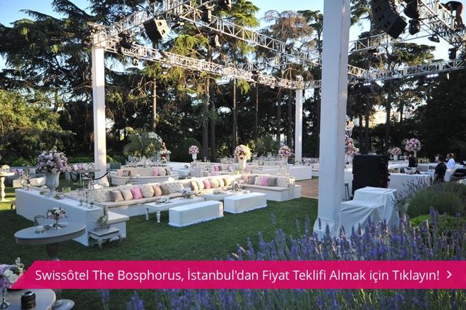 Swissôtel The Bosphorus'da kır düğünü