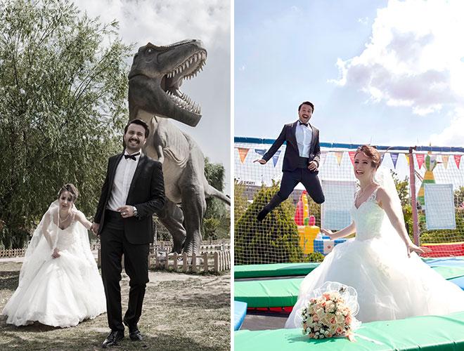 baş döndüren bir evlenme teklifi: yağmur ve alican!