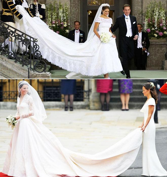 k1 - iki kraliyet düğünü arasındaki 5 benzerliği bulun