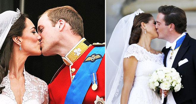 k2 - iki kraliyet düğünü arasındaki 5 benzerliği bulun