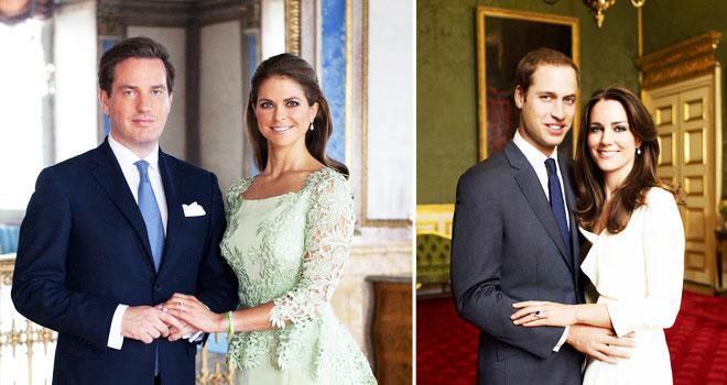 k3 - iki kraliyet düğünü arasındaki 5 benzerliği bulun