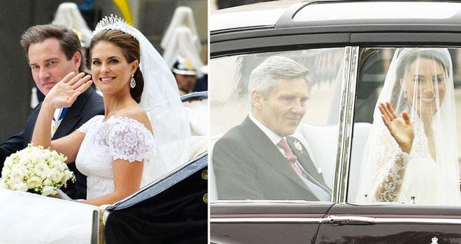 k5 - iki kraliyet düğünü arasındaki 5 benzerliği bulun