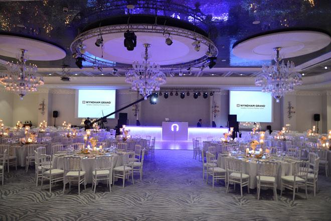 4 - Wyndham Grand İstanbul Kalamış Marina Hotel'in balo salonu