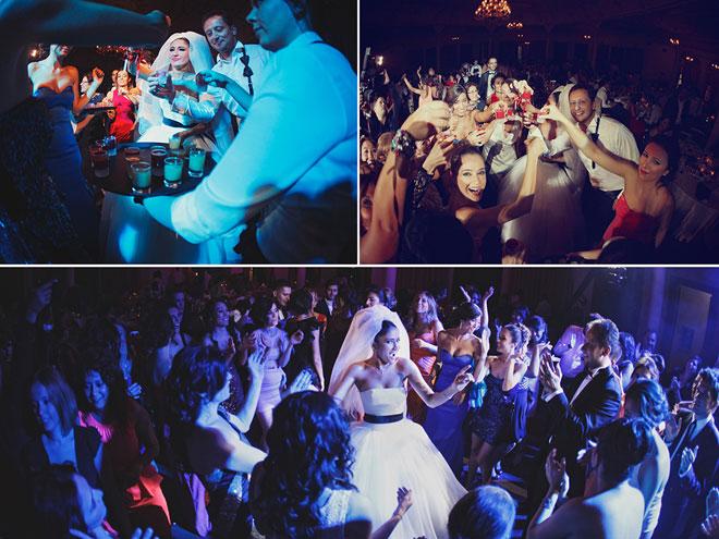 5 - Modern ve eğlenceli parti gibi düğünler