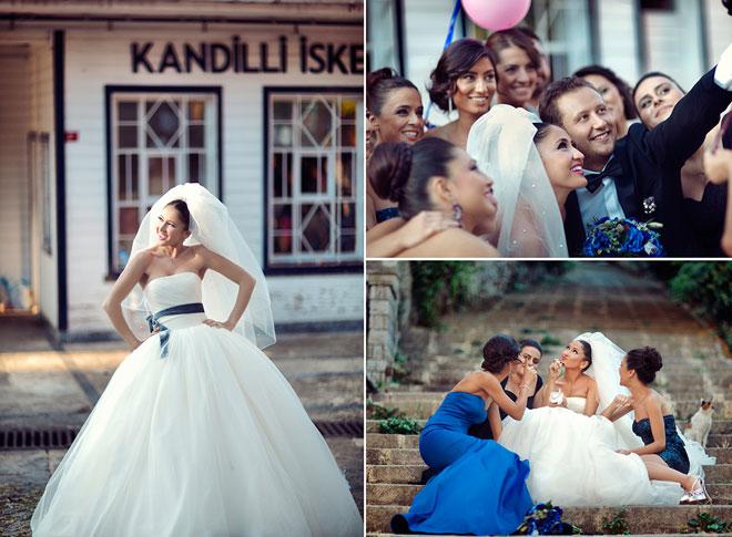 7 - Gelinin özel anlarının pozlandığı düğün fotoğrafları