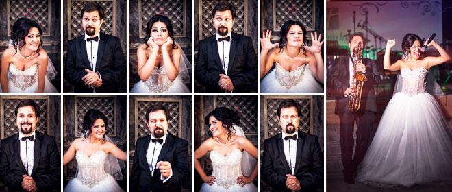 11. aylarını düğünleriyle kutladılar: gülşah ve lütfü