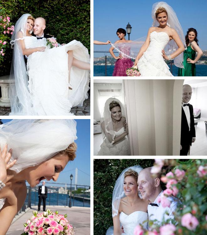 ilksen ve denizin hikayesi - Düğün kolaj
