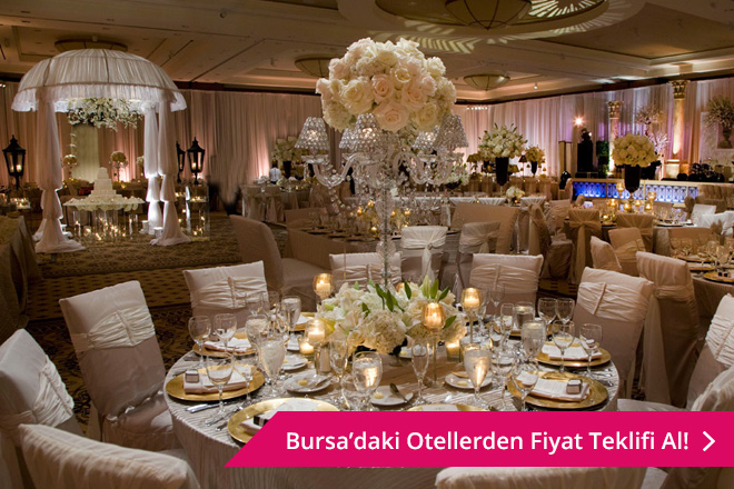 Bursa otel düğünü
