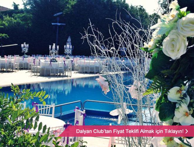 dalyan_club_dugun - Havuz başı düğün mekanı örneği