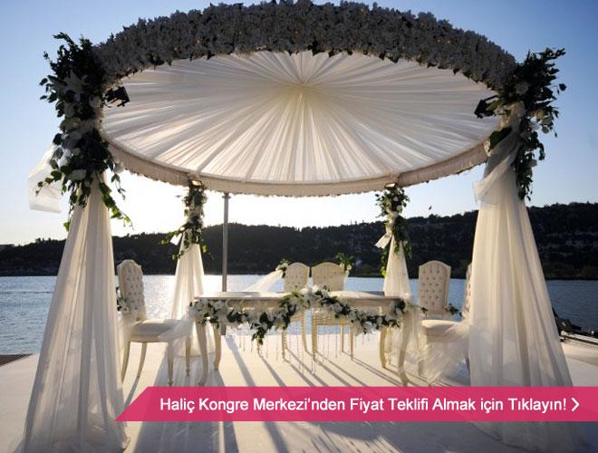 Deniz manzaralı düğün mekanlarından Haliç Kongre Merkezi