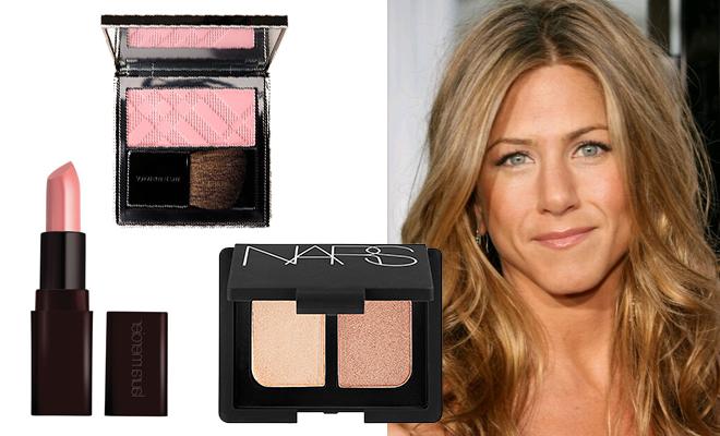 jen_aniston_makyaji - Gelin makyajı modellerinden buğday tenli gelinlere Jennifer Aniston makyajı