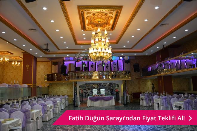 uygun fiyatı ile dikkat çeken fatih düğün salonları