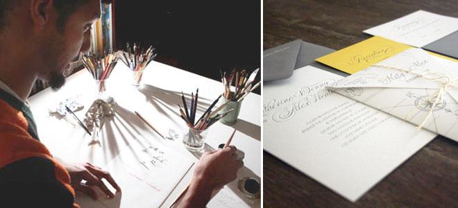 kaligrafi2 - davetiyede kaligrafi