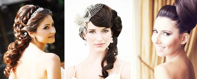 Sac Rengine Göre Gelin Saçı Modelleri
