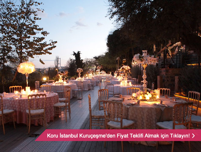İstanbul'da düğün mekanları
