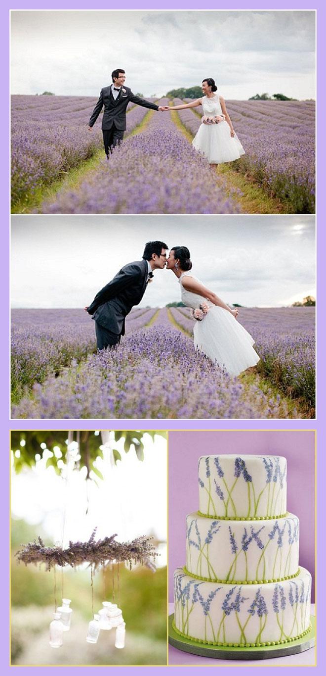 5 - lavanta kokulu bahar düğünleri