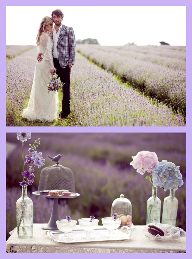 6 - lavanta kokulu bahar düğünleri