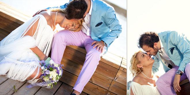görülmemiş bir düğün partisi: merve ve cengiz