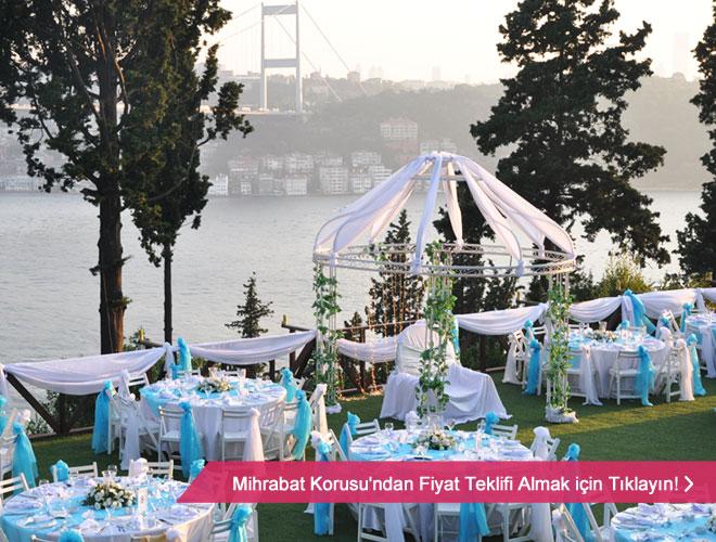mihrabat_korusu_14 11 - Kanlıca tepelerinde boğaz ve orman manzaralı kır düğünü mekanı Mihrabah Korusu