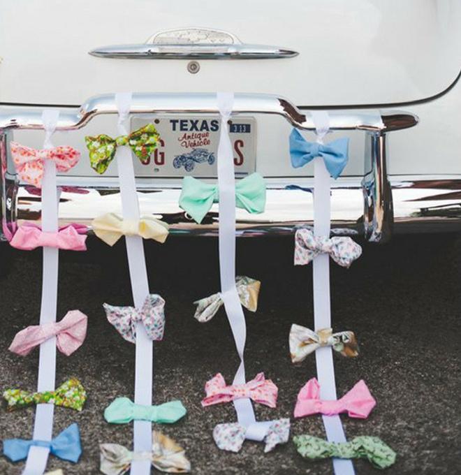 en etkileyici gelin arabası süsleme fikirleri