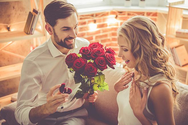 unutulmaz evlilik teklifleri
