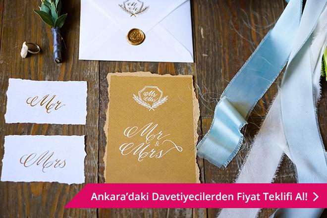 Ankara davetiye fiyatları