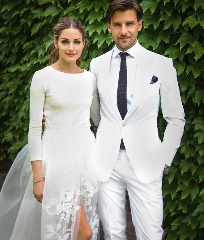Stil ikonu Olivia Palermo ve eşi Johannes Huelb
