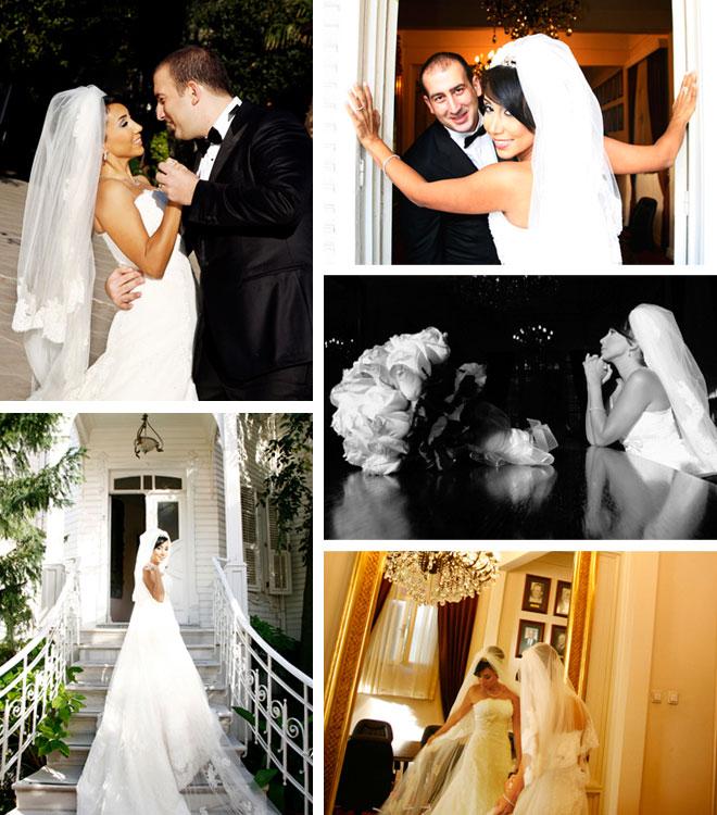 omurden ve aslinin hikayesi - Düğün kolaj