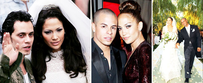 Jennifer Lopez ve eski düğün görüntüleri