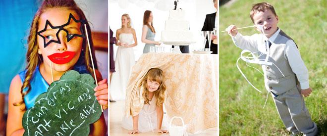 Düğünde Çocuklar