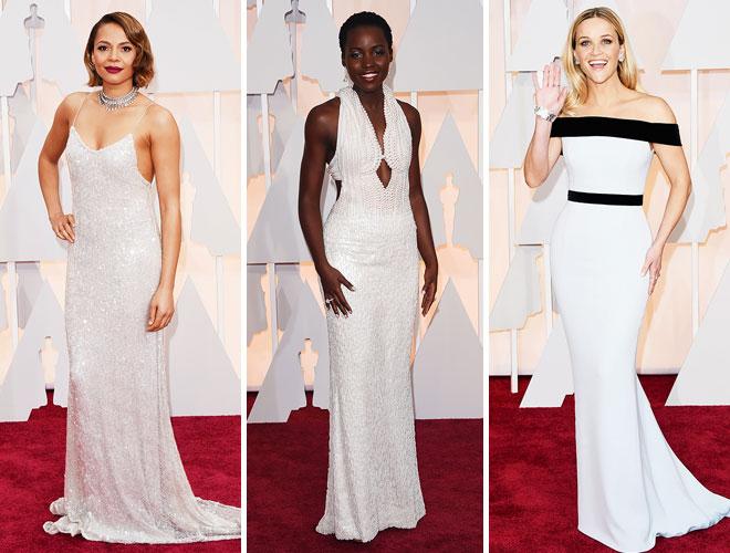 beyaz - Resee Witherspoon ve beyaz abiye modelleri.