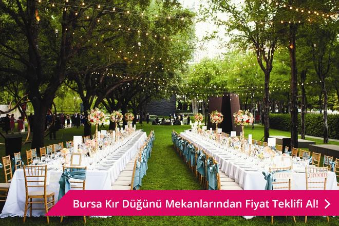 Bursa kır düğünü