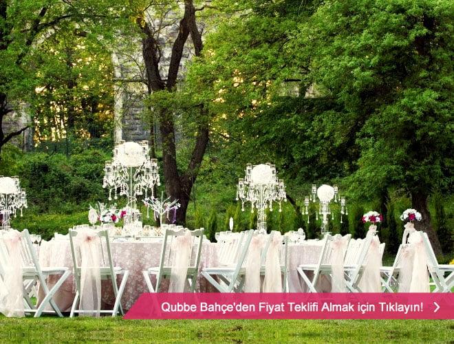 qubbe_bahce_14 11 - İstanbul'da kır düğünü mekanları ve fiyatları