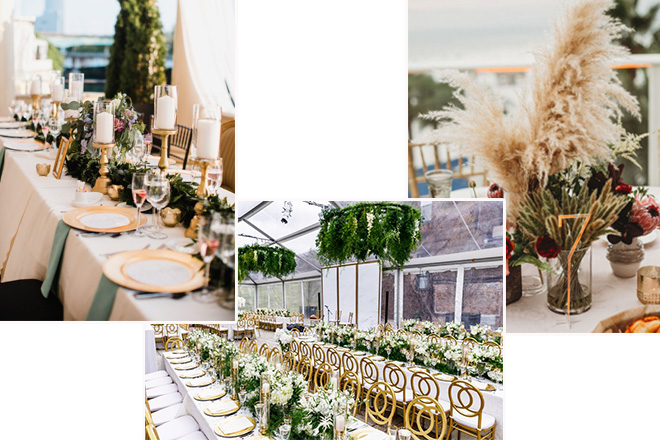 düğün dekorasyon trendleri