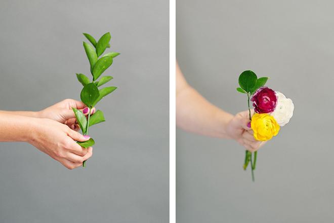 Evde Gelin Çiçeği Yapımı
