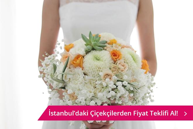 İstanbul gelin çiçeği