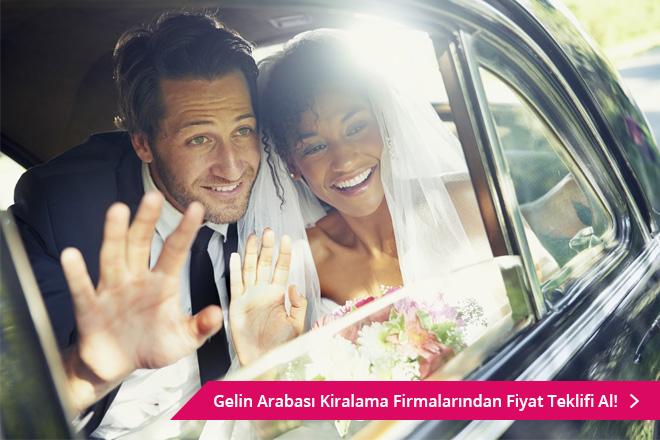 en romantik, komik ve ilginç gelin arabası yazıları
